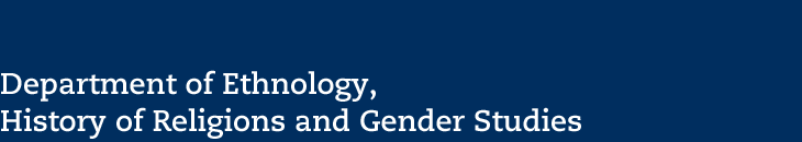 Department of Ethnology, History of Religions and Gender Studies